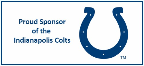 VASEY Pround Sponsor of the Indianapolis Colts