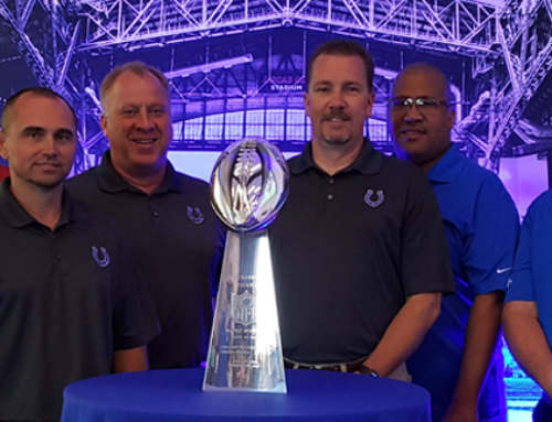 VASEY at the Indianapolis Colts Luncheon!