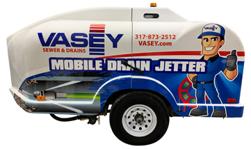 VASEY Commercial Facility Solutions - Mobile Drain Jetter