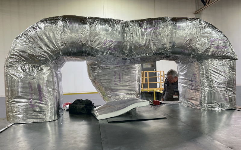 VASEY Facility Solutions - Ductwork Filtering System