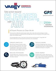 VASEY Facility Solutions - GPS Proven Process Air Purification Sheet