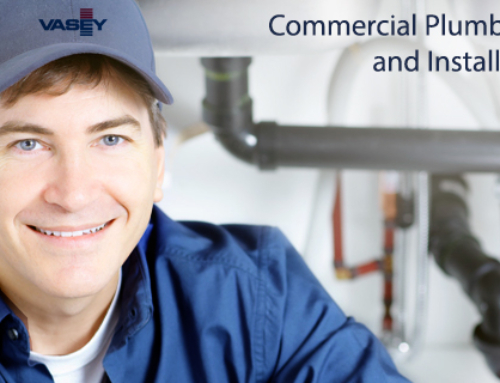 VASEY Offers New Commercial Plumbing Services!