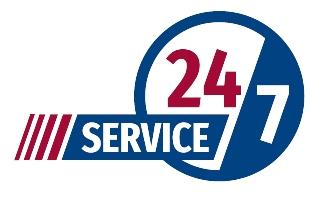 VASEY Facility Solutions - 24/7 Service Logo