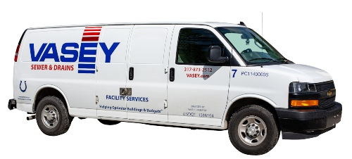 VASEY Facility Solutions - VASEY Sewer & Drain Truck